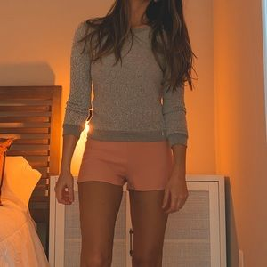 Pants - Romper sweater and shorts